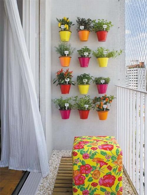 Декор своими руками на балконе