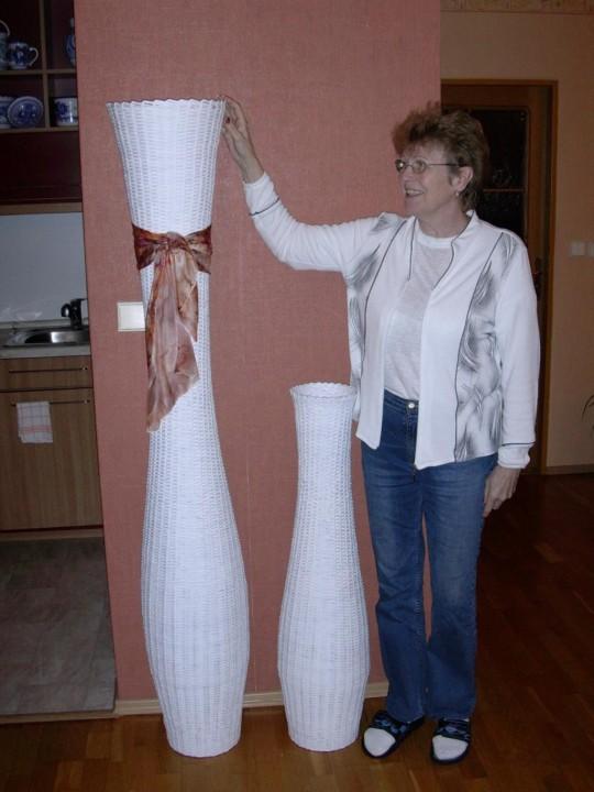 Сделать вазу из газеты своими руками