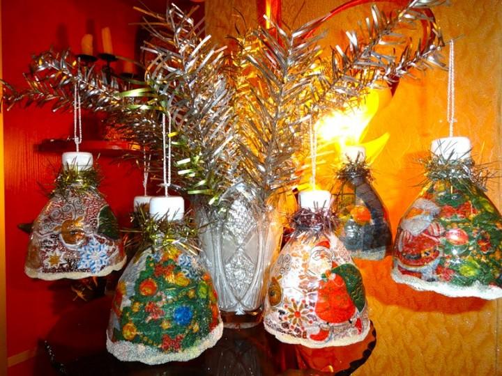 Колокольчики новогодние своими руками