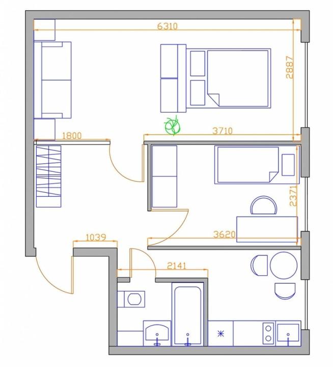 Как из 2 комнатной сделать 3 комнатную квартиру