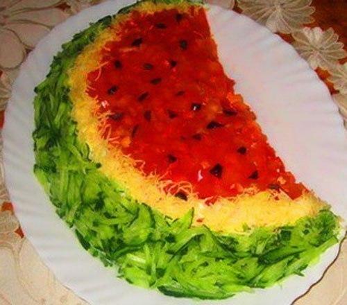 Приготовление и салатов
