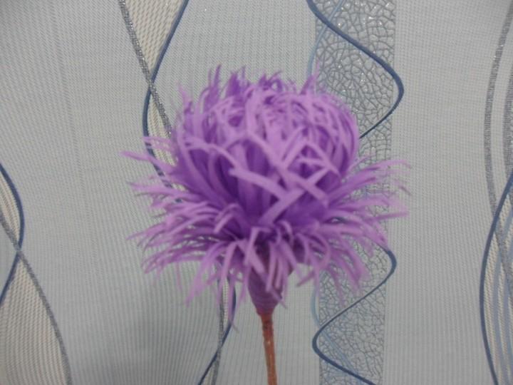 Астры цветы из гофрированной бумаги своими руками 84