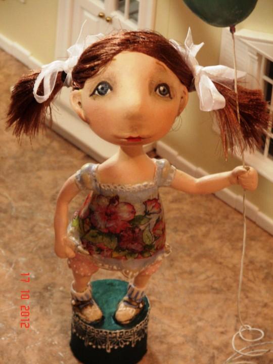 Куклы своими руками из папье-маше