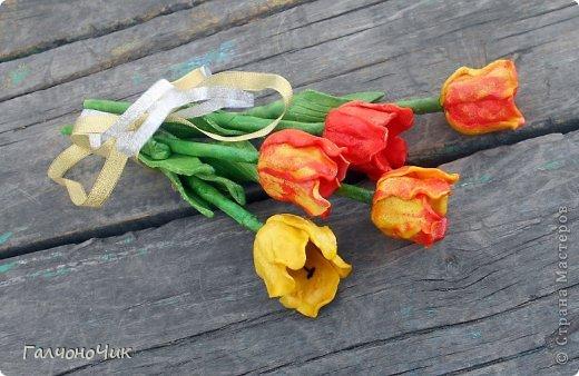 Тюльпаны из соленого теста своими руками пошаговая инструкция 26