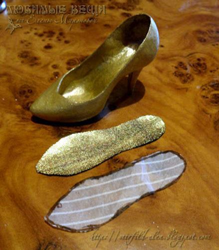 Как сделать стельки в туфли