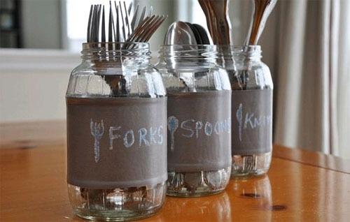 Декор стеклянной банки своими руками для кухни