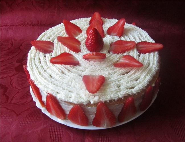Как украсить верх торта в домашних условиях