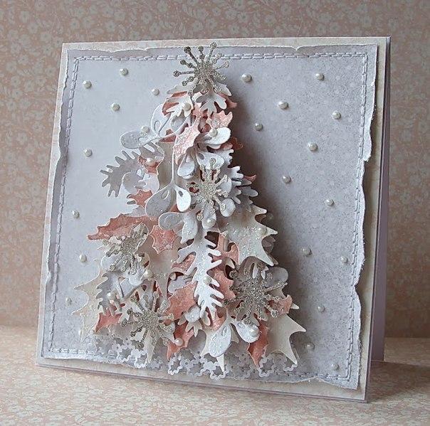 Фото новогодней открытки своими руками