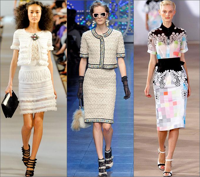 Мода ретро платья