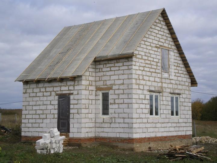 Каркасный Дачный дом из каркаса 6х6 - Дк-14 под ключ в