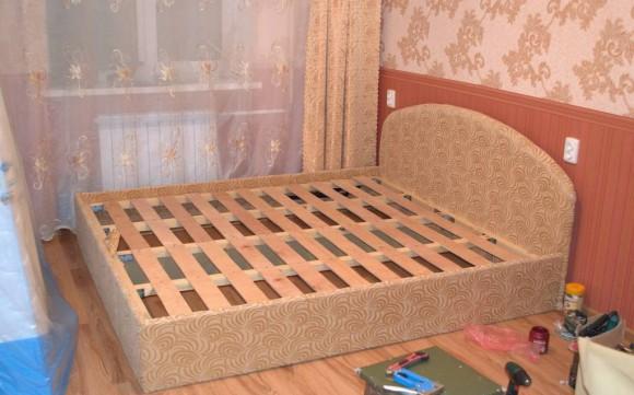 Двуспальная кровать 180х200 своими руками