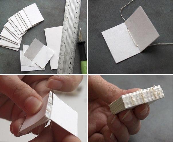 Как своими руками сделать маленькую книжку