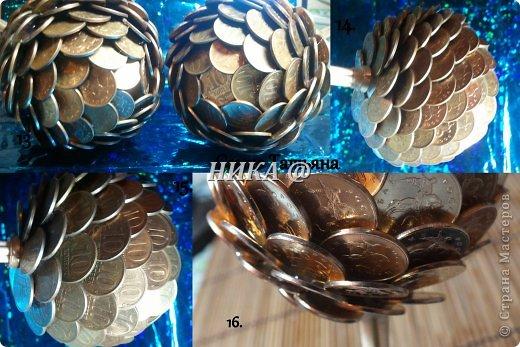 Шар из монет своими руками
