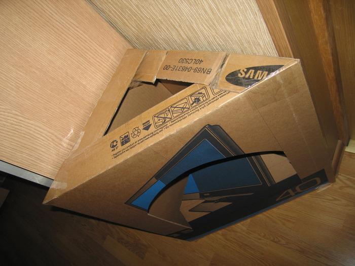 Фото камина своими руками из картона