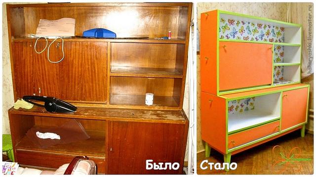 Старые шкафы реставрация своими руками