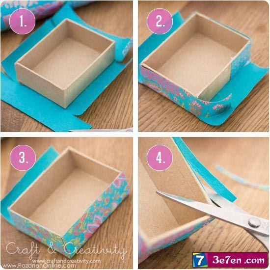 Как декорировать коробочку своими руками