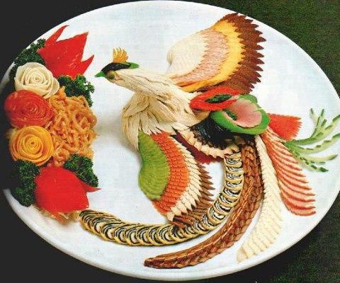 Creative salad decoration designs