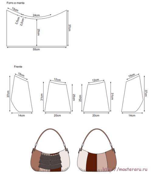Сшить сумкувыкройки 5