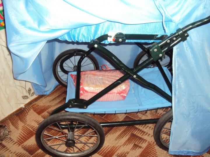 Как сделать люльку из старой коляски