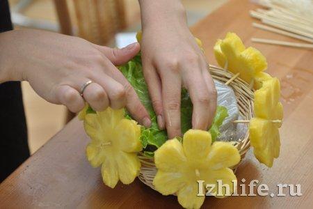 Как сделать из фруктов своими руками пошаговая инструкция