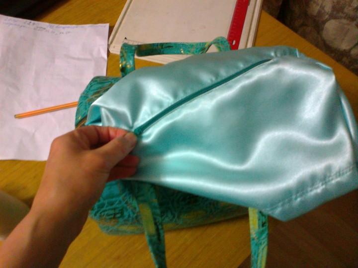 Ремонт подкладки сумки своими руками 84