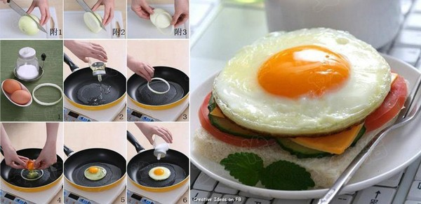 как приготовить яичницу рецепт с фото