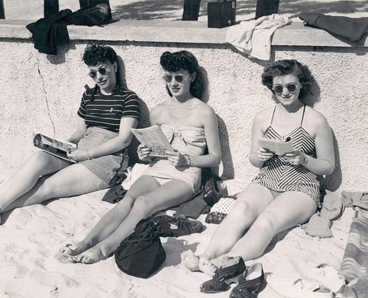 Beachfashion19 Пляжная мода 20 30 х годов XX века