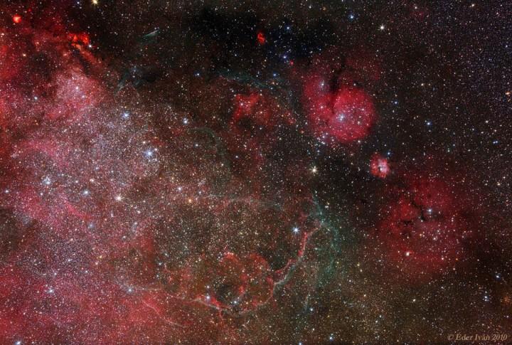 star08 Остатки от вспышек сверхновых звезд