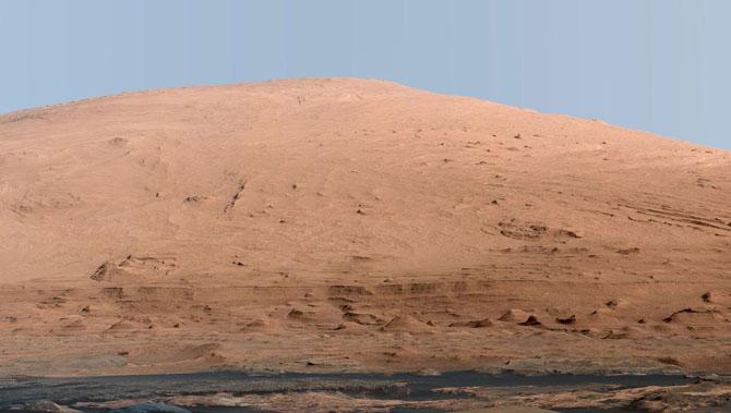 Год на Марсе. Марсоход Curiosity: последние новости
