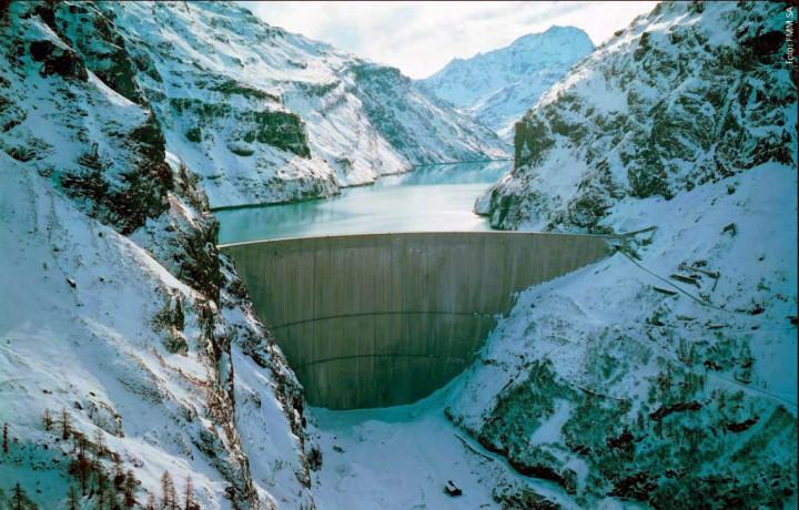 Mauvoisin Dam 30 Дамба Мовуазен