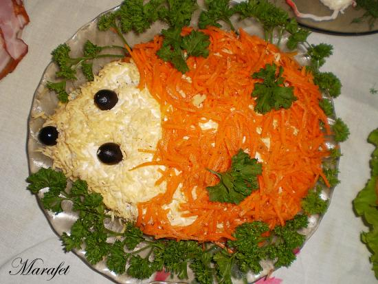 меню салатов на день рождения с фото