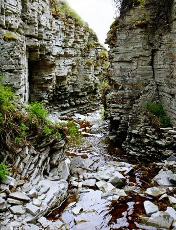 Скальные породы. Якутия