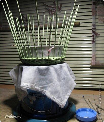 Мастер-класс Плетение МК - Шкатулка из бумаги Бумага газетная Трубочки бумажные фото 28