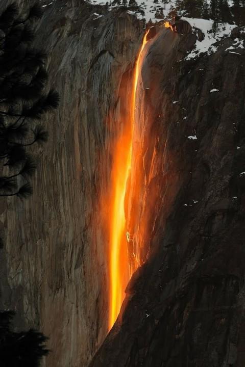 horsetail12 Водопад «Лошадиный Хвост»