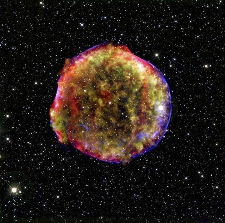 star07 Остатки от вспышек сверхновых звезд