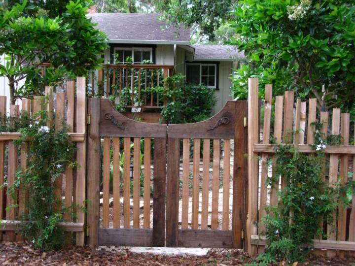 садовая калитка своими руками