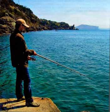 Крым. Море удовольствия от морской рыбалки
