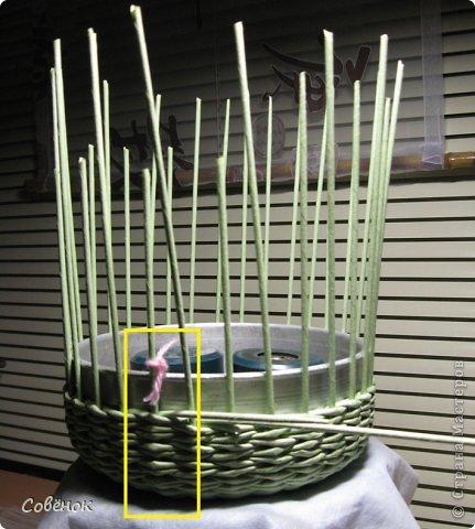 Мастер-класс Плетение МК - Шкатулка из бумаги Бумага газетная Трубочки бумажные фото 29
