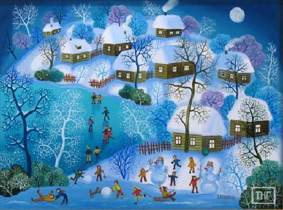 если погодные как назвать картины на зимнюю тему особенность