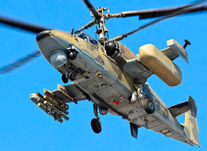 Современные российские ударные вертолеты