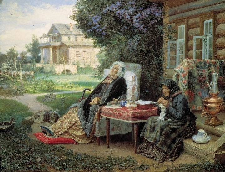 Василий Максимов. Всё в прошлом, 1889