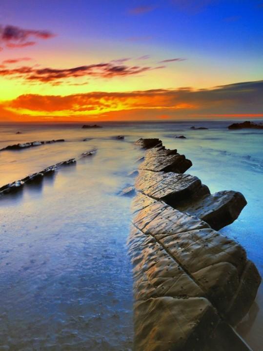 turbidites11 Турбидиты   необычные образования на побережье Испании