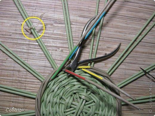 Мастер-класс Плетение МК - Шкатулка из бумаги Бумага газетная Трубочки бумажные фото 14