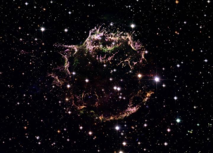 star03 Остатки от вспышек сверхновых звезд