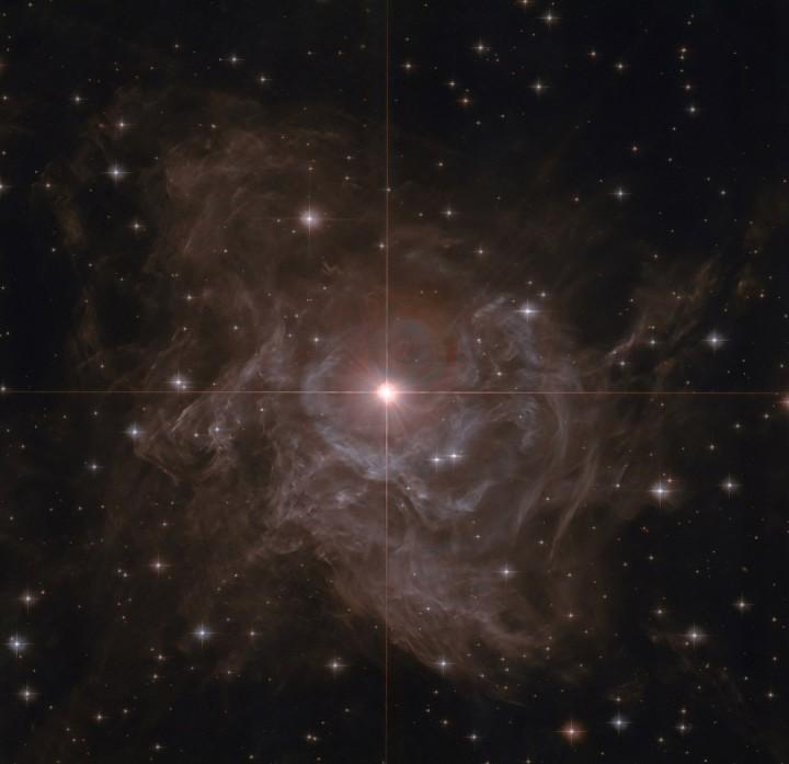 Переменная звезда RS Кормы