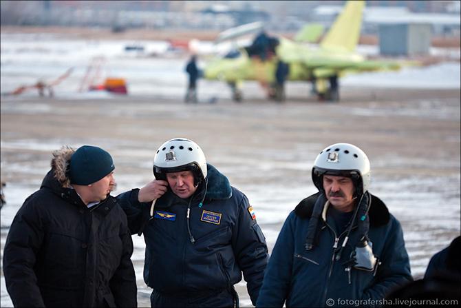 Як-130 на Иркутском Авиационном заводе