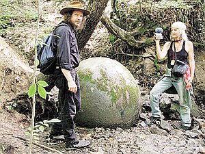 В Боснии гранитные сферы обнаружены в горах