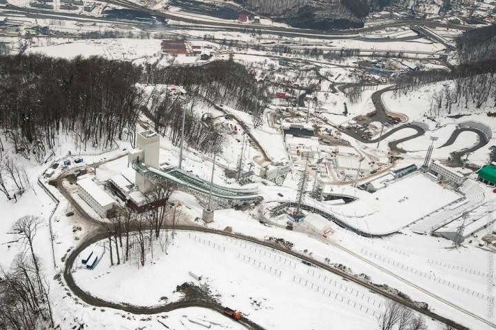 sochi07 Как выглядят Олимпийские объекты с воздуха