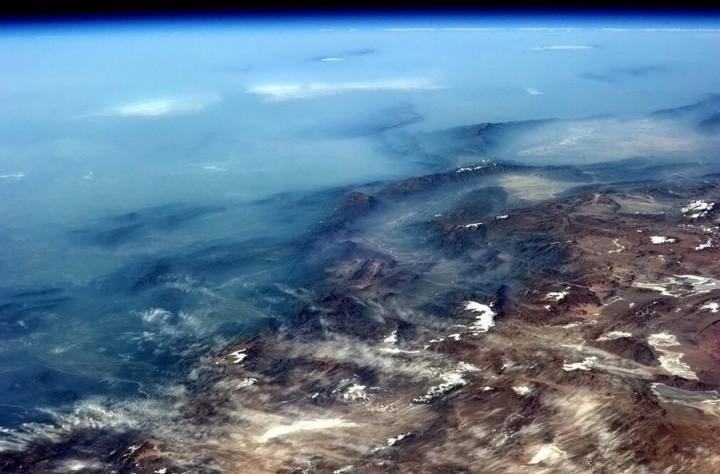 KrisXedfild 8 Крис Хэдфилд: потрясающие фотографии из космоса