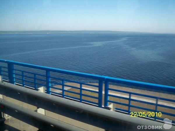 Поездка по новому мосту